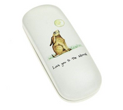 Love You To The Moon Hare Glasses Case