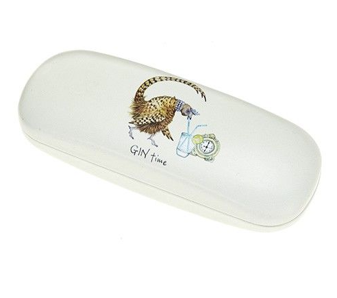 Gin Time Pheasant Glasses Case