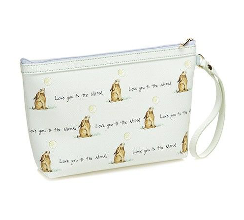 Love You To The Moon Hare Make Up Bag