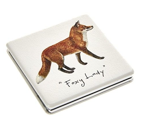 'Foxy Lady' Compact Mirror