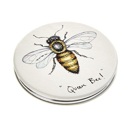 'Queen Bee' Compact Mirror
