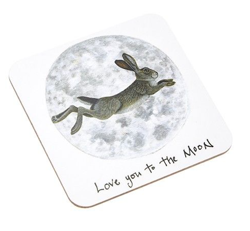 'Love You To The Moon' Jumping Hare Coaster