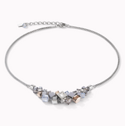 Coeur De Lion GeoCUBE Cluster Necklace