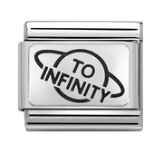 Nomination Silver To Infinity Charm 330109/24