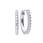 Diamonfire Small Creole Hoop Earrings E5609