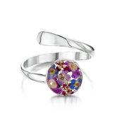 Shrieking Violet Purple Haze Ring BLRA01