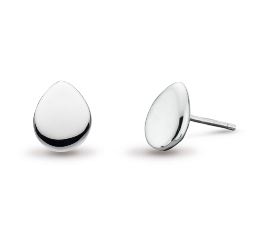 Kit Heath Coast Pebble Stud Earrings