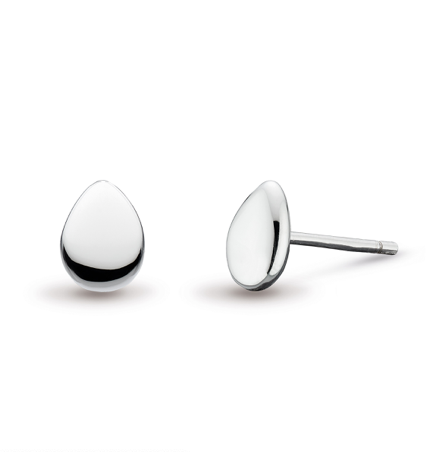 Kit Heath Coast Pebble Small Stud Earrings