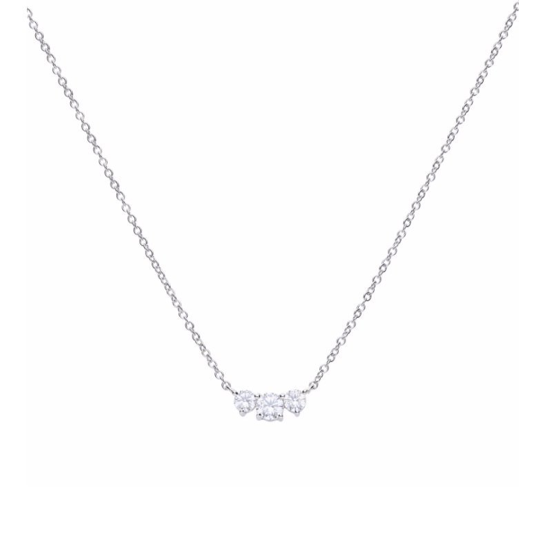 Diamonfire 3 Stone Necklace