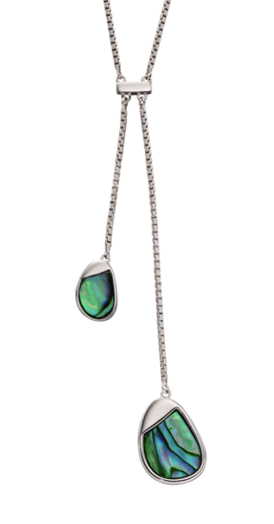 Fiorelli Abalone Shell Pebble Necklace