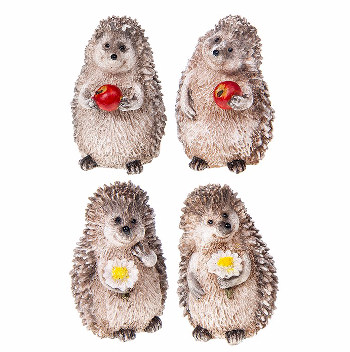 Mini Happy Hedgehog Figure