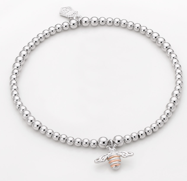 Clogau Honey Bee Affinity Beaded Bracelet