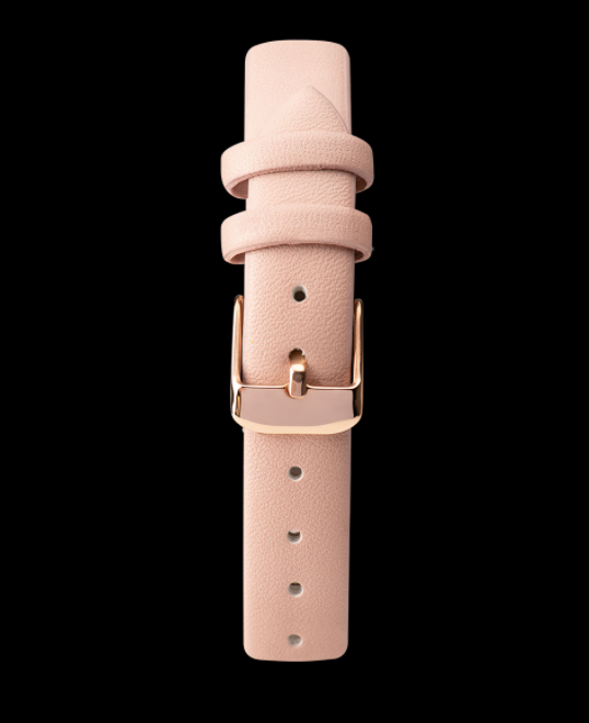 Rose Gold Flowers & Pink Strap Limit Watch