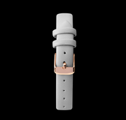 Rose Gold Sunflower & Grey Strap Limit Watch