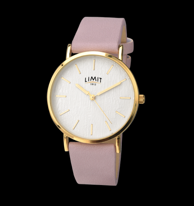 Yellow Gold & Matte Purple Strap Limit Watch