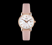 Rose Gold Mother Of Pearl Face & Pink Strap Limit Watch