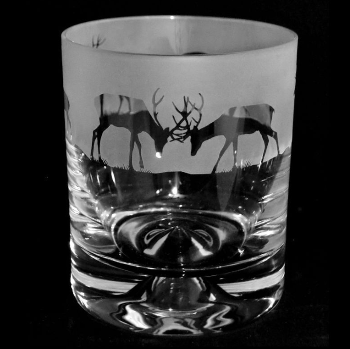 Stag Tumbler Glass