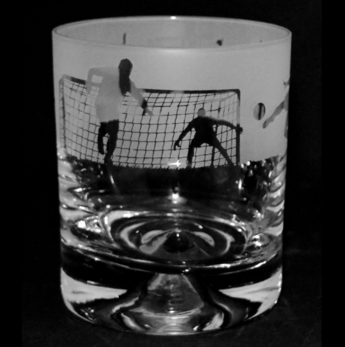Football Tumbler Glass