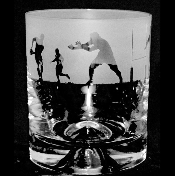 Rugby Tumbler Glass