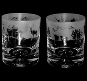 Scottish Scene Highland Cow Tumbler Glass
