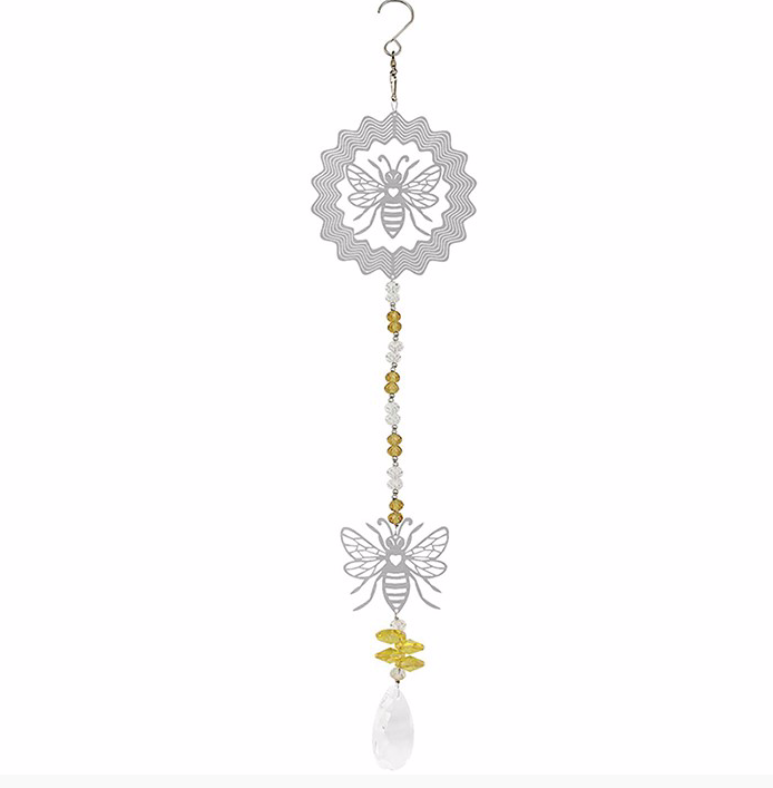 Crystal Bee Suncatcher