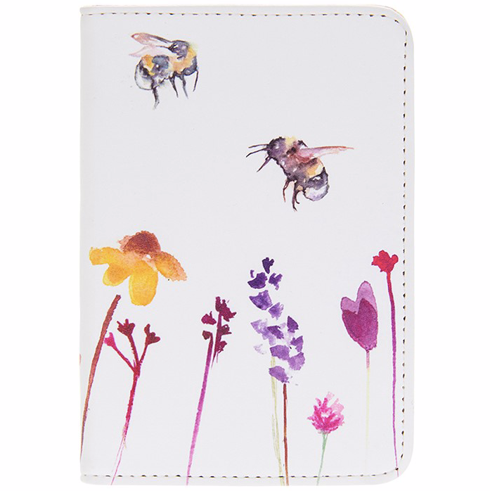 Painted Bee Passport Cover