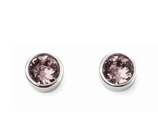 June Birthstone Stud Earrings