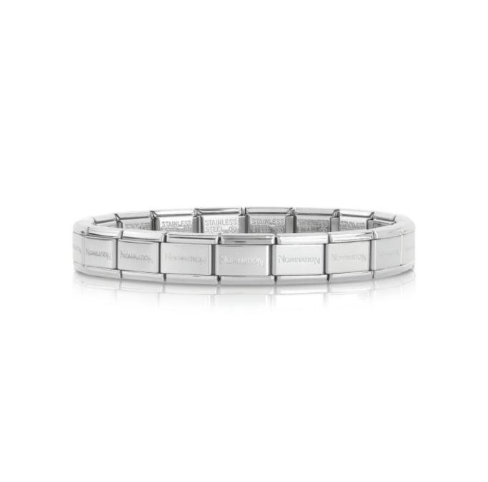 Nomination Base Bracelet Silver Links