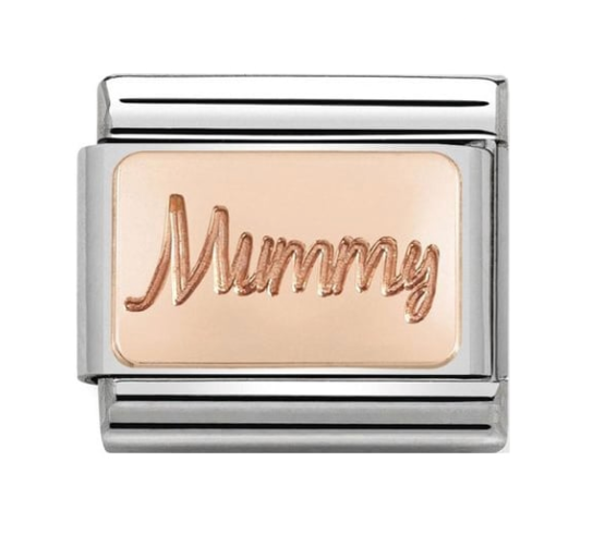 Nomination Rose Gold Mummy Charm