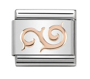 Nomination Rose Gold Swirl Charm