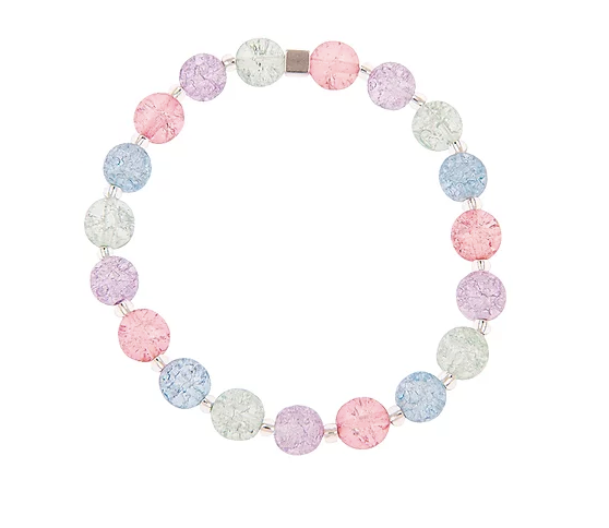 Carrie Elspeth Pastel Crackle Globes Bracelet
