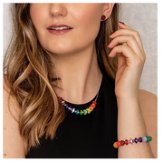 Carrie Elspeth Rainbow Polaris Necklace