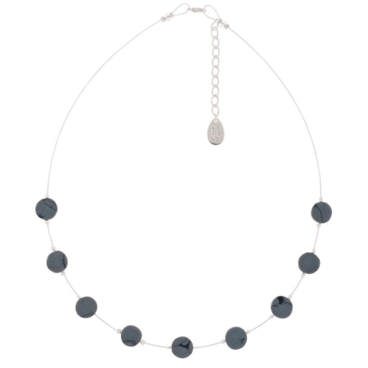 Carrie Elspeth Blue Rainclouds Necklace