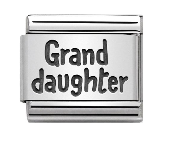 Nomination Silver Grand Daughter Charm
