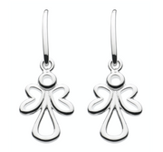 Dew Open Angel Drop Earrings