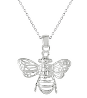 Dew Bee with Moving Wings Pendant
