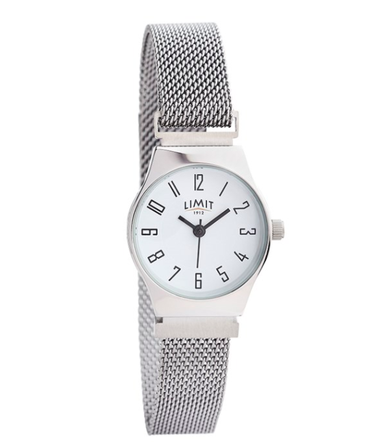 Silver Mesh Magnetic Strap Limit Watch