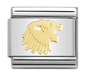 Nomination Gold Zodiac Leo Charm