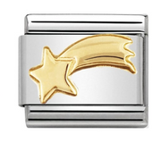 Nomination Gold Shooting Star Charm