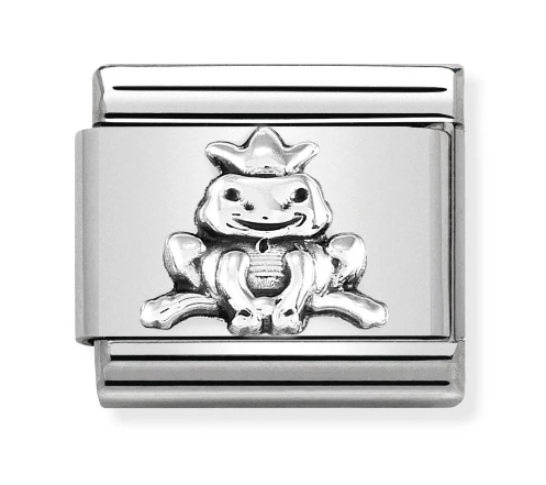 Nomination Silver Frog Prince Charm