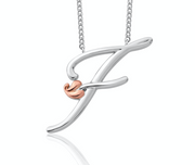 Clogau Tree Of Life Initial Letter F Pendant