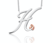 Clogau Tree Of Life Initial Letter H Pendant