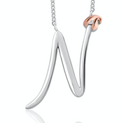 Clogau Tree Of Life Initial Letter N Pendant