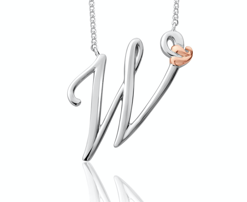 Clogau Tree Of Life Initial Letter W Pendant