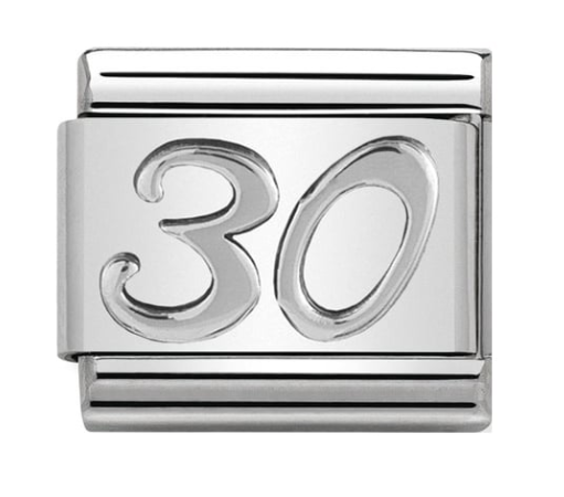 Nomination Silver 30 Charm
