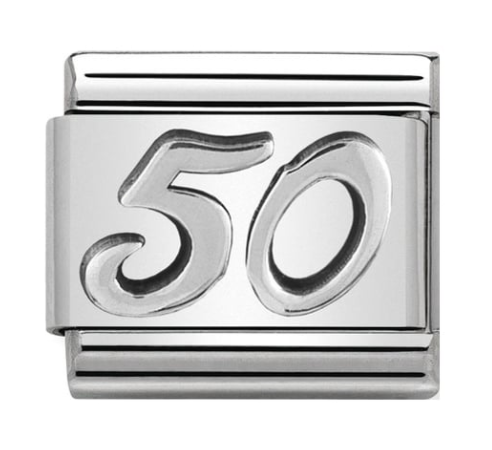 Nomination Silver 50 Charm