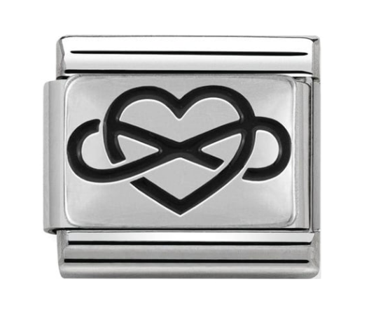 Nomination Silver Infinity Heart Charm