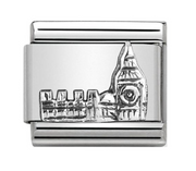 Nomination Silver London Big Ben Charm