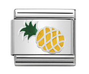 Nomination Silver Pineapple Charm