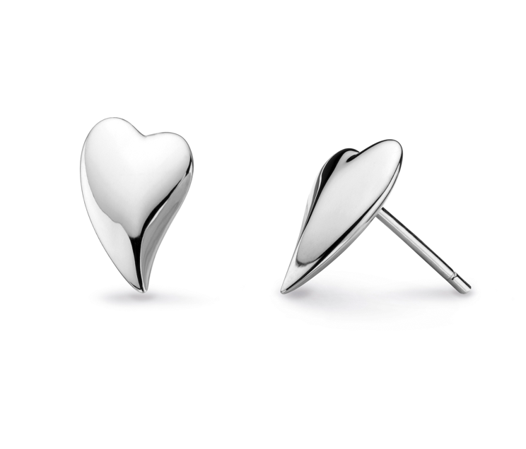 Kit Heath Desire Lust Heart Stud Earrings